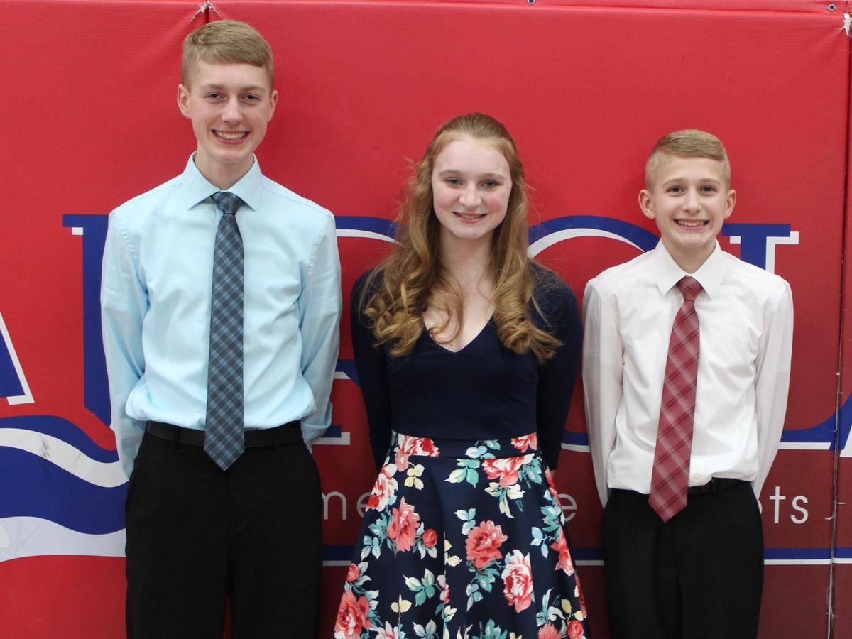 Carroll Science Day Award Winners