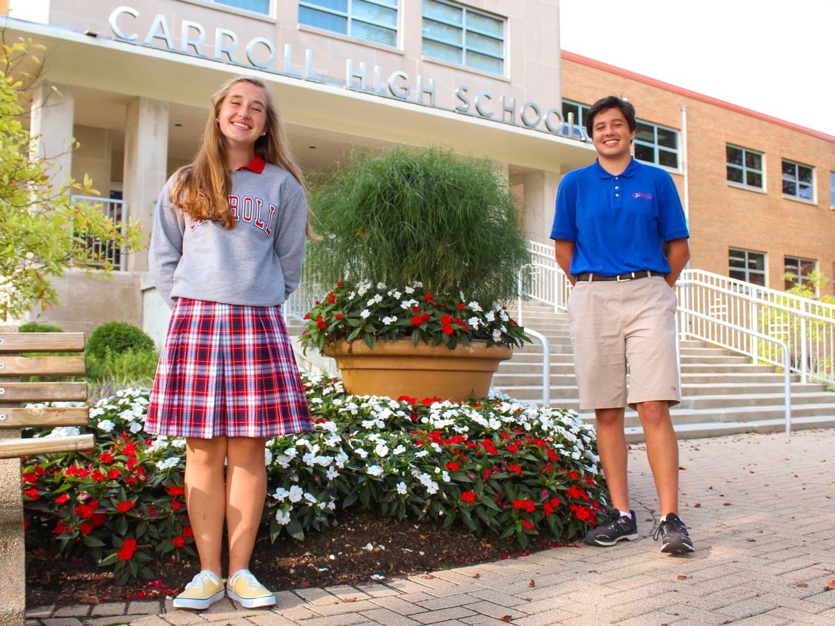 Carroll High School's National Merit Scholarship Semifinalists for the Class of 2021