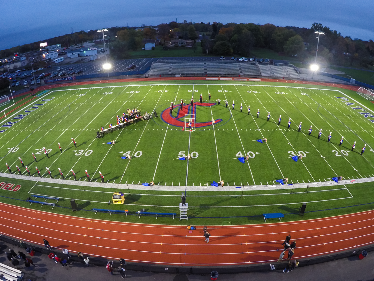 "The Marching Patriots present 2020 show ""Alone"""