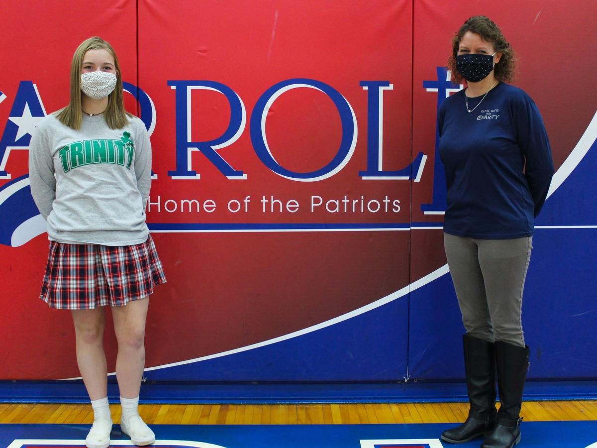 Student of the Week Brooke Grieshop '22: February 4, 2021