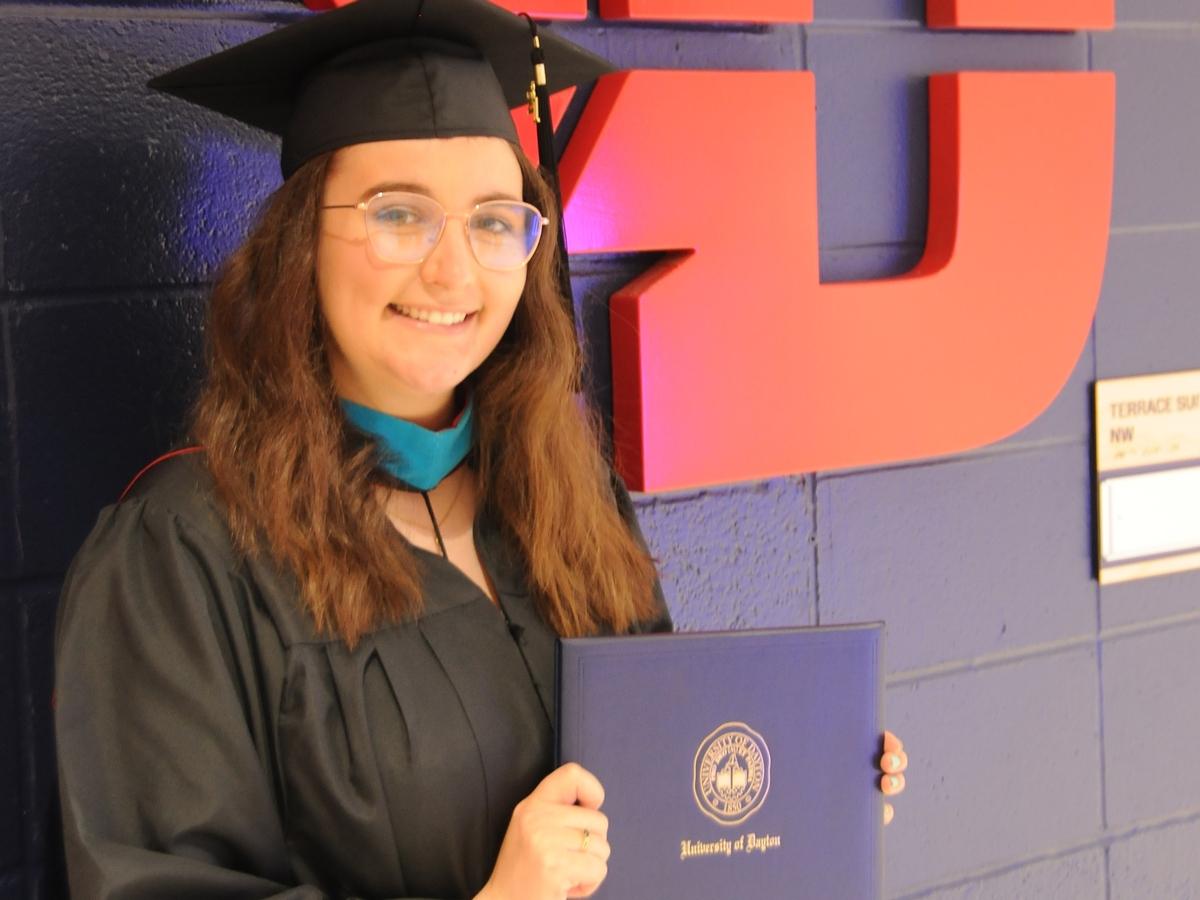 Carroll High School alumnus Marina Sorrell graduated from the University Dayton as a licensed intervention specialist