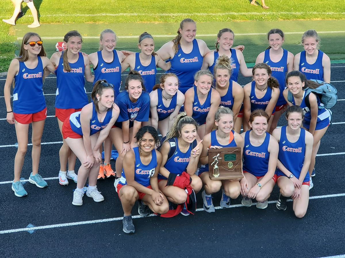 Women's 2021 Track and Field Division II District Champions