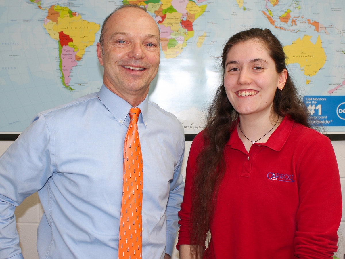 Student of the Week Breana Devillier '20: February 25, 2020