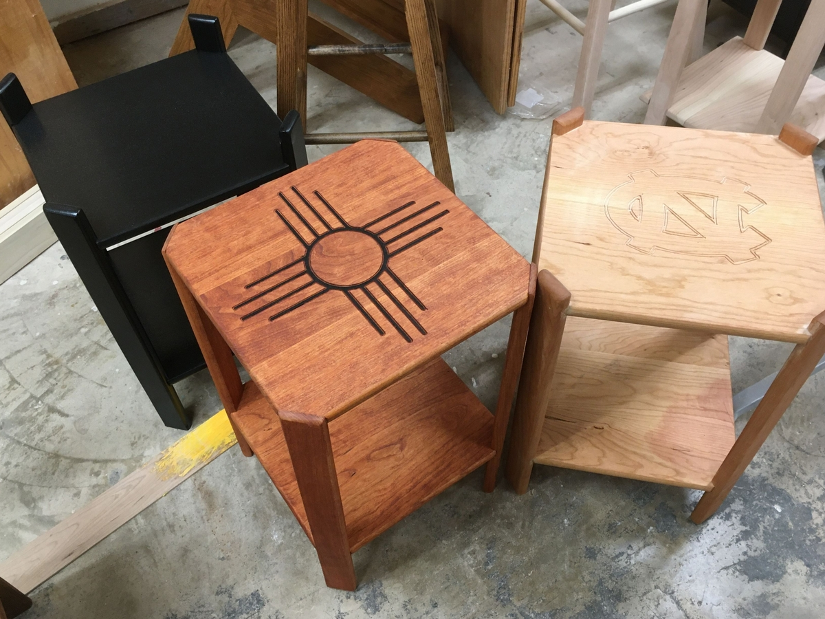 Basic tables from Woodworking I