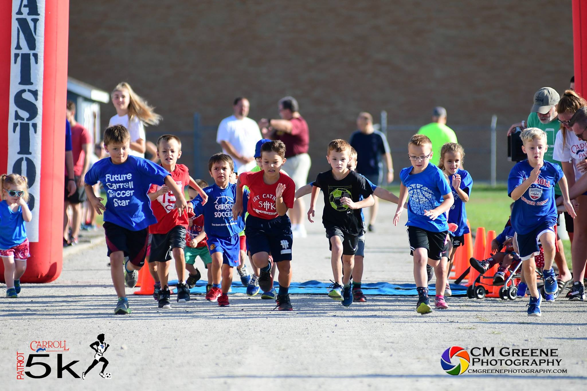 Patriot 5k and Little Pats' Lap in Dayton, Ohio