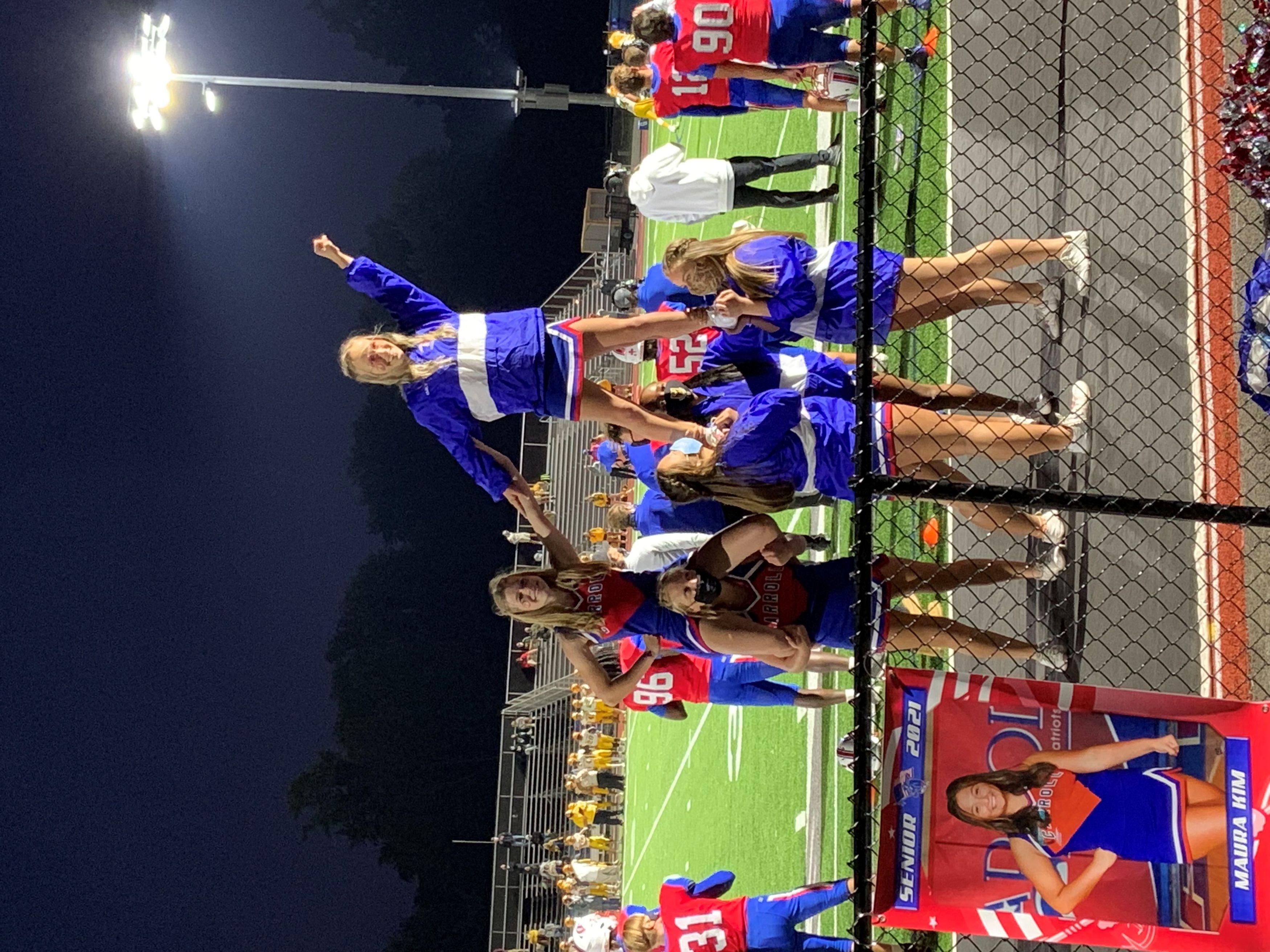Carroll Patriot Cheerleading