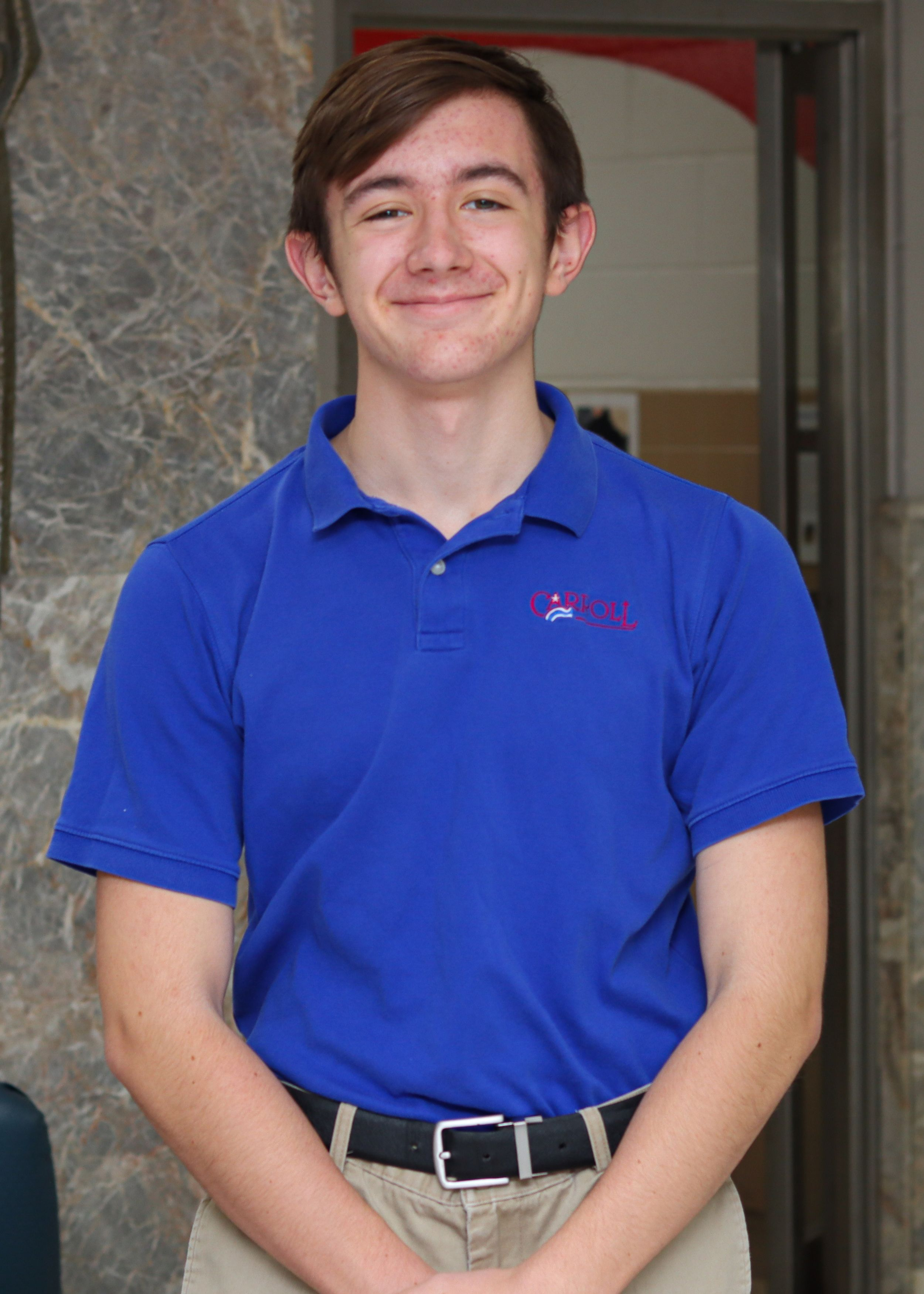 Paxton Clark Leukemia Lymphoma Society Student of the Year 2021 Candidate