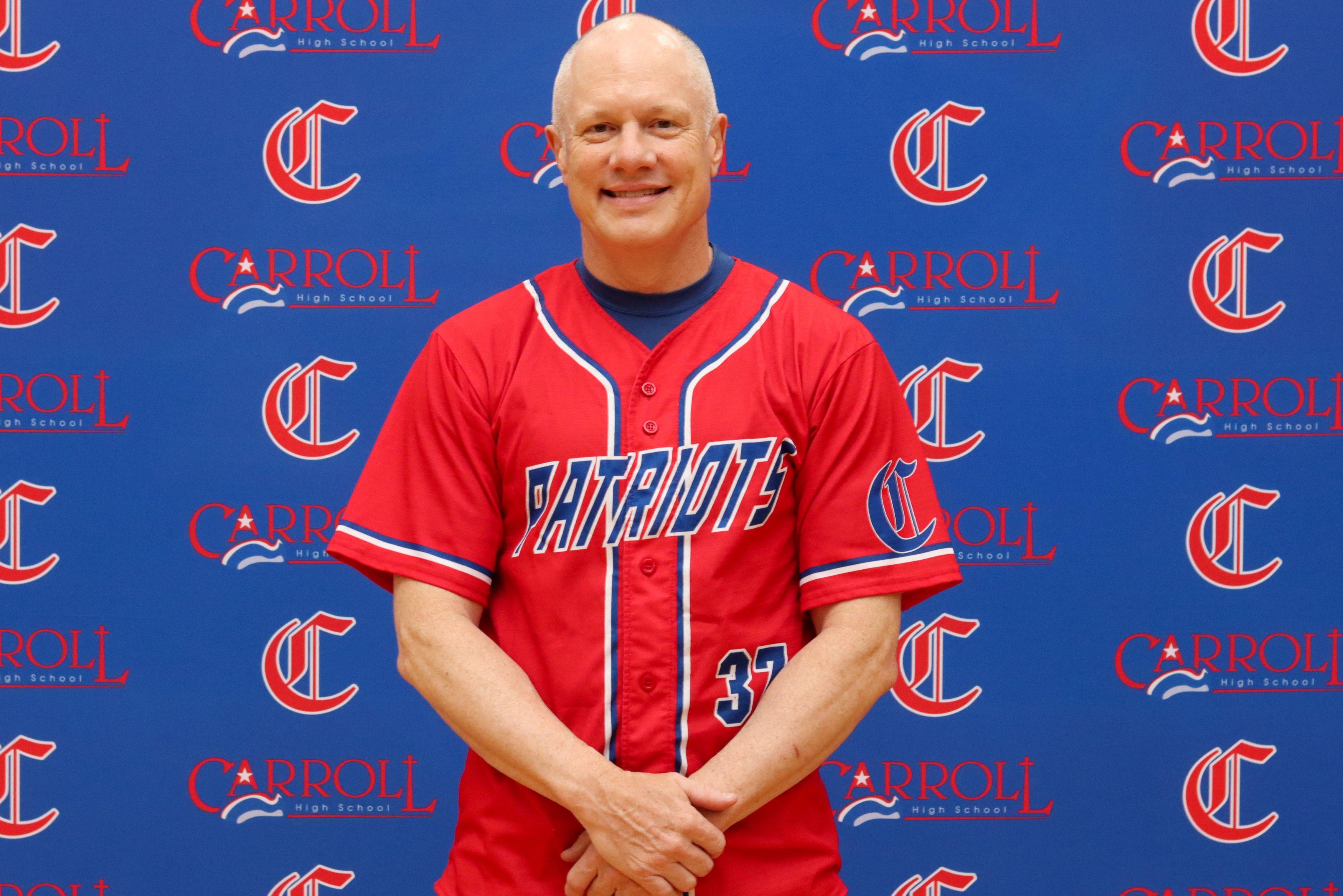 Carroll Baseball Head Coach TR Smart