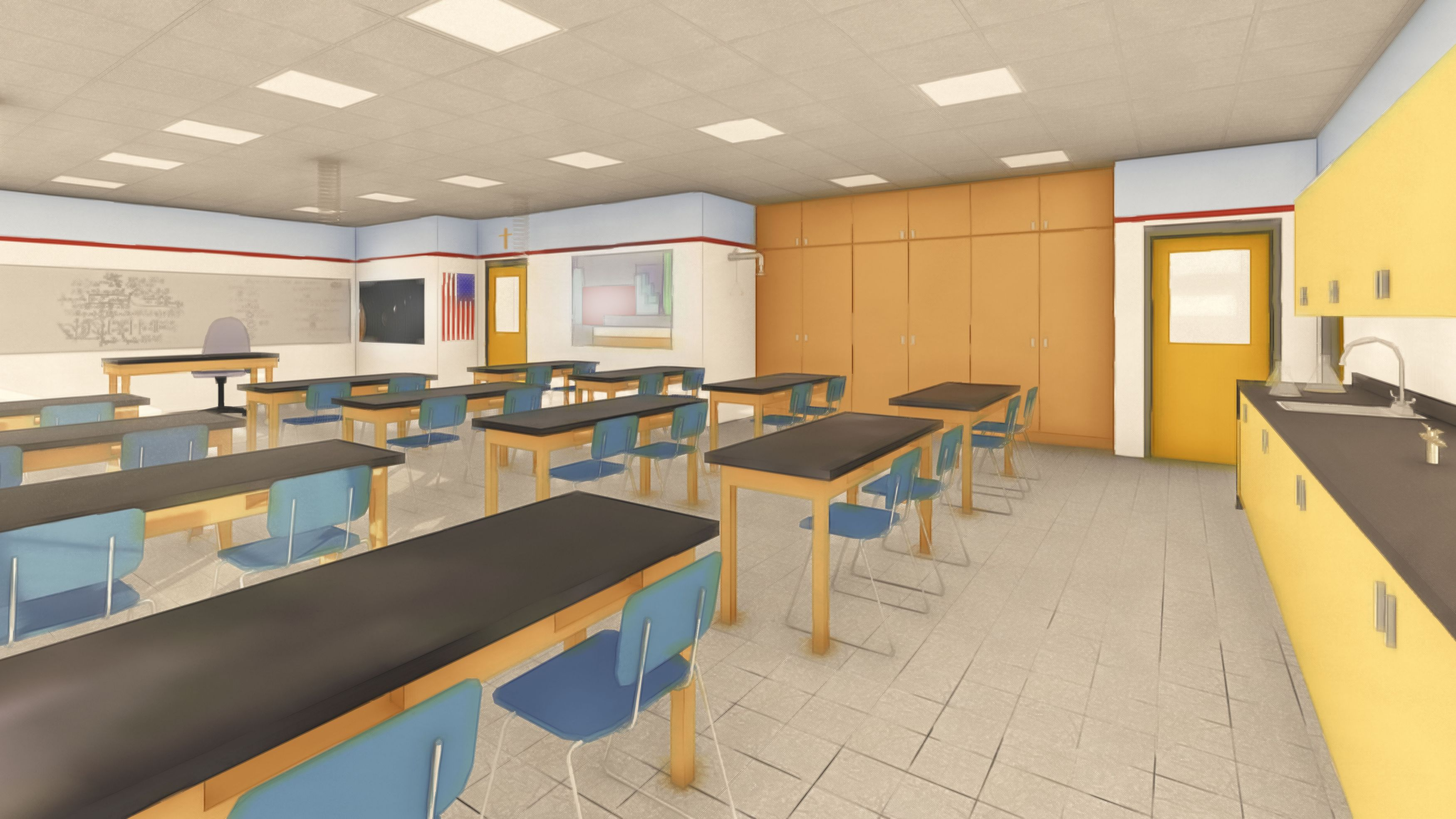 Science Labs: Artist's Rendering