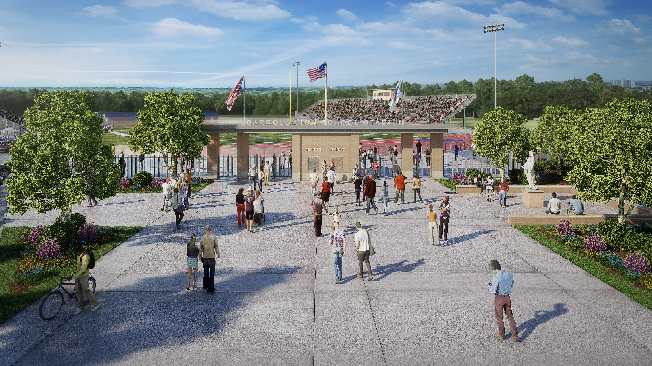 Patriot Stadium: Artist's Rendering