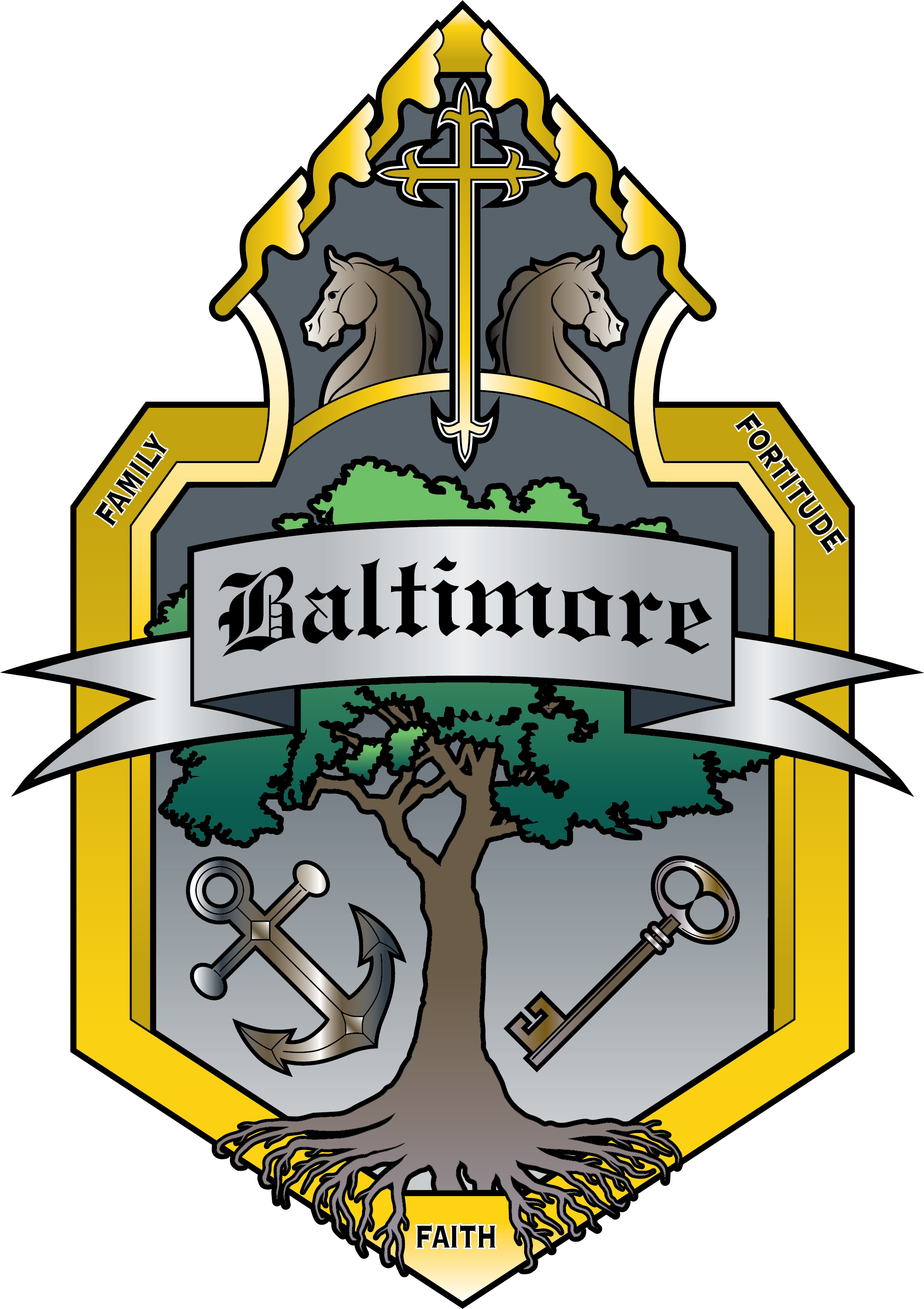 Baltimore House Crest