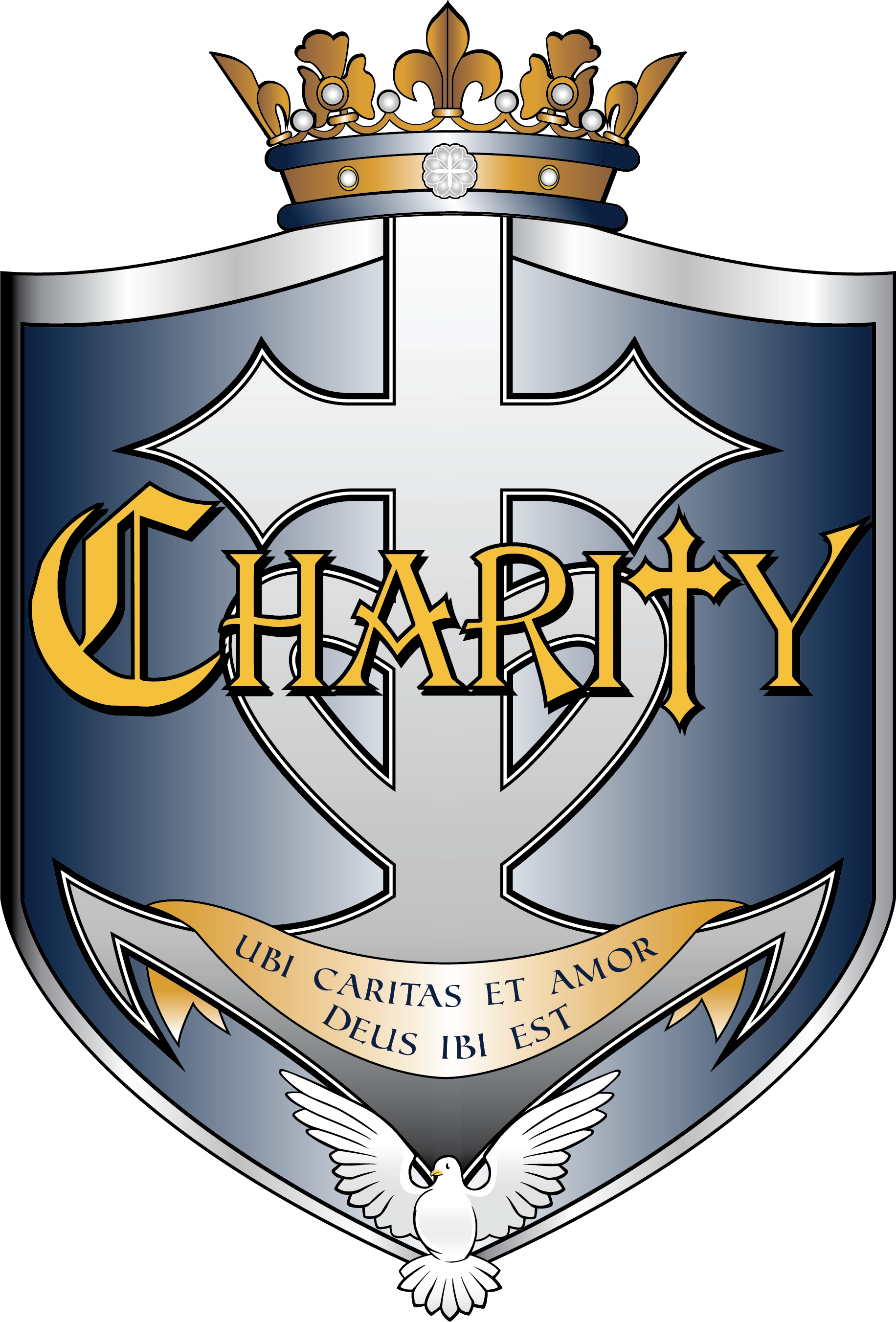 Crest of Charity House