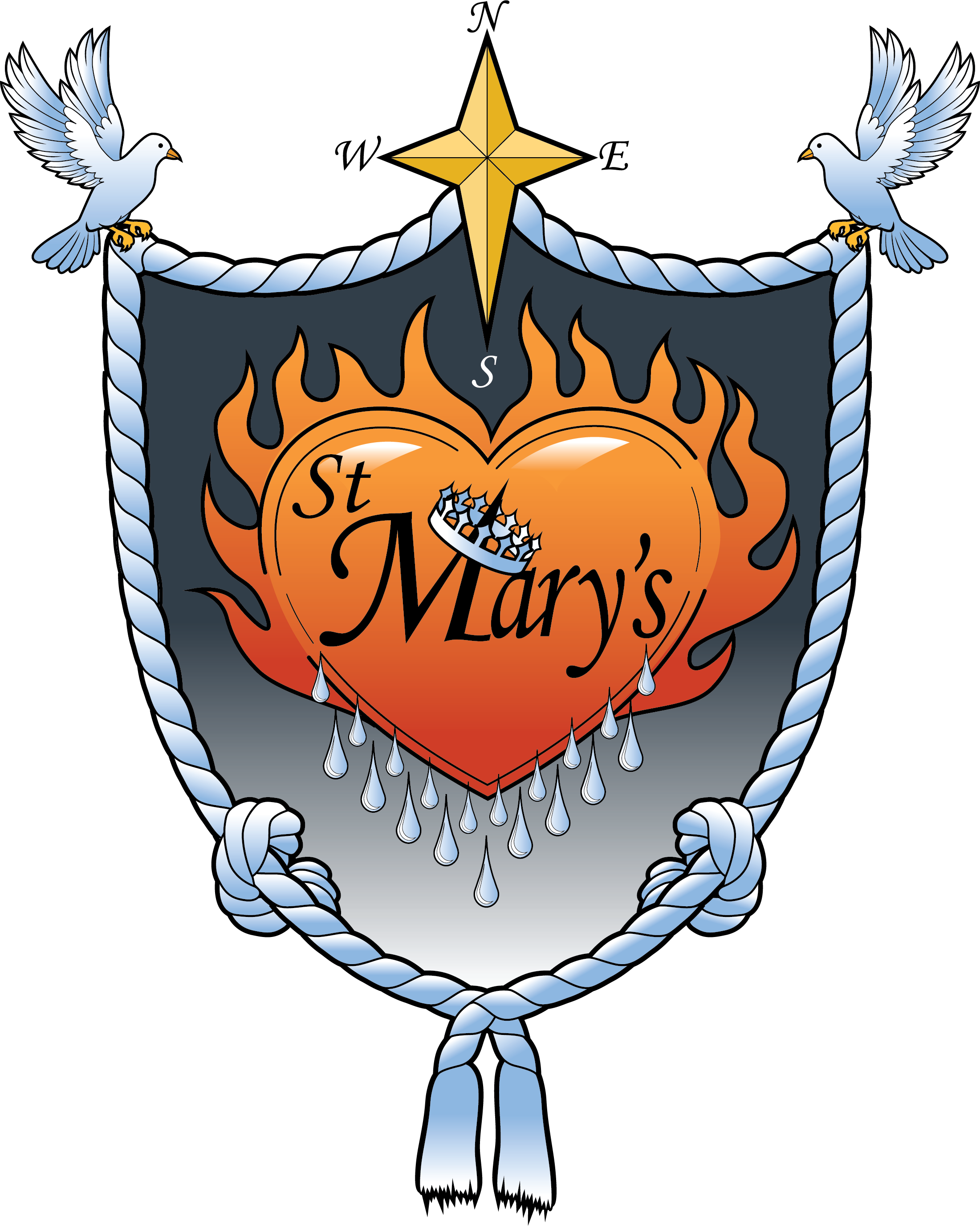 St. Mary's House Crest
