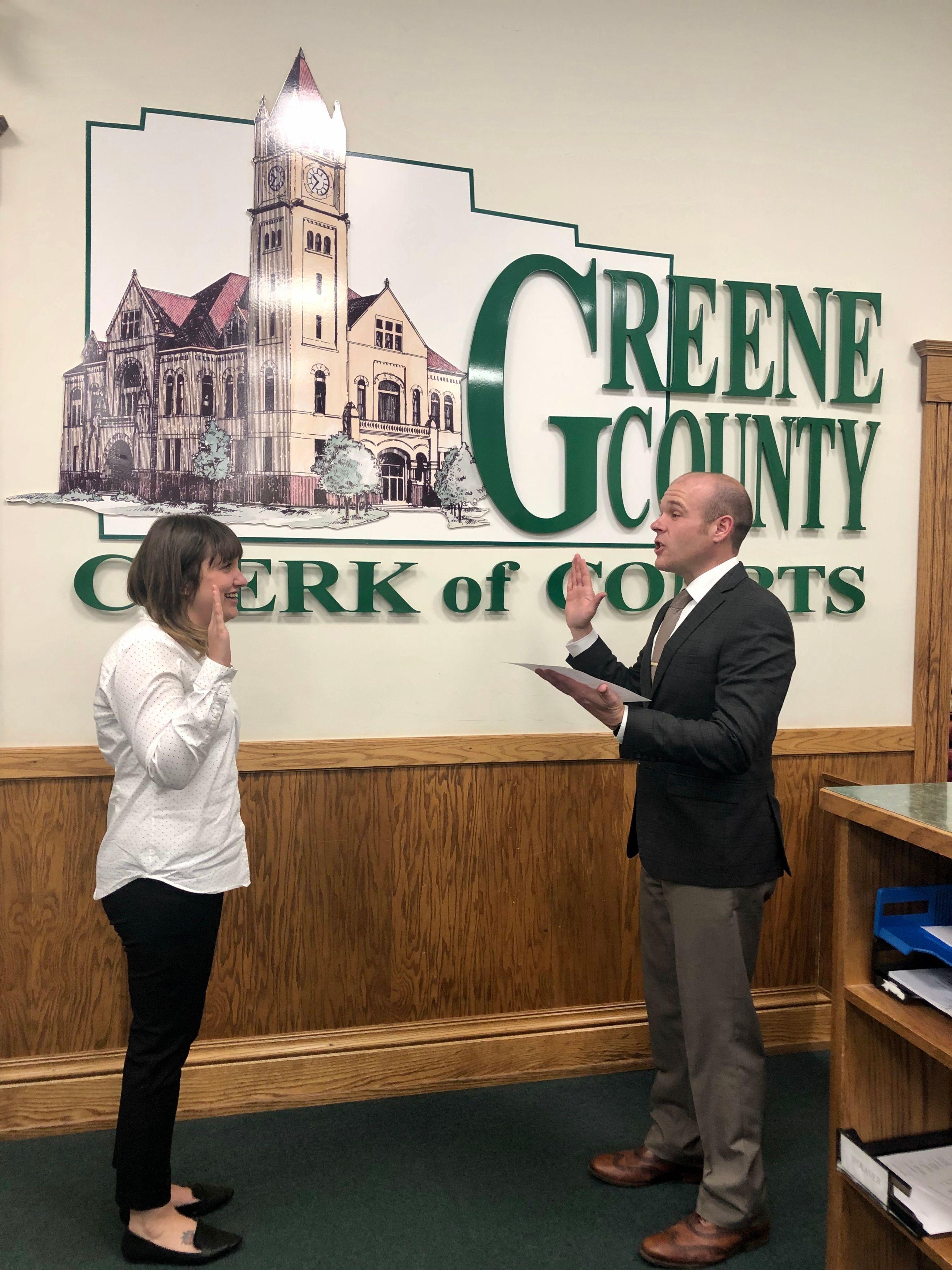 Greene County Clerk of Courts AJ Williams '03